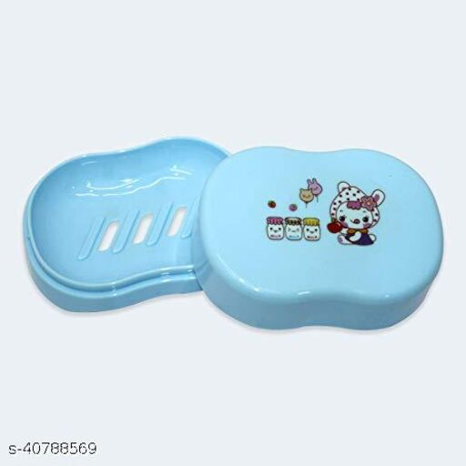 Kids soap Box Dishes, Waterproof Leakproof Washing Bathing Cleaning Soap Box Holder