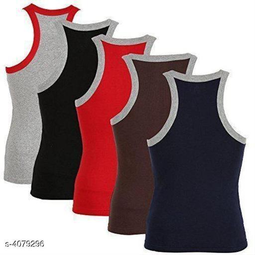 Trendy Men's Cotton Vest Combo