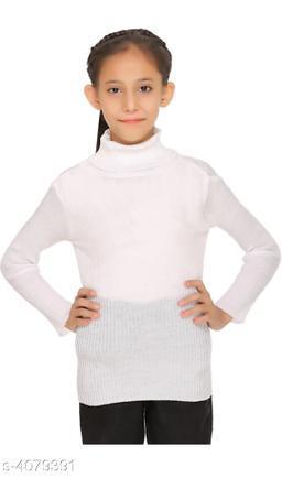 Doodle Trendy Woolen Kid's Girls Sweater