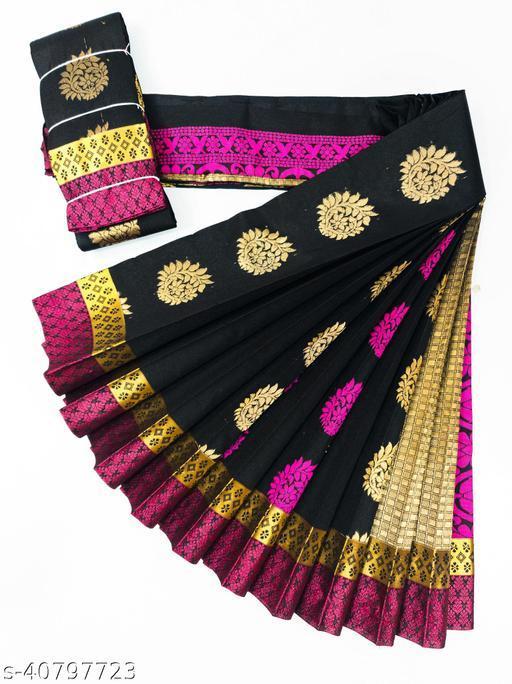 Kota Silk Cotton Double Putta(thread\zari) Saree