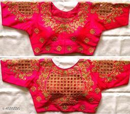 Stylish Phantom Silk Blouse