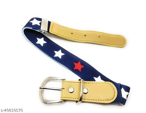 Unisex Elastic Belt(pack of 1) multicolour availabe, size available 2years up to 7 yrs