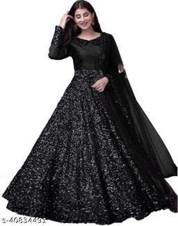 Fancy party wear gown