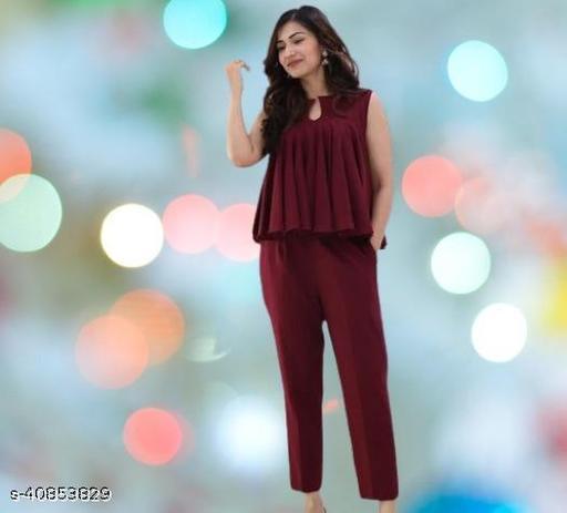 Aakarsha Drishya Women Top and Pyjama set
