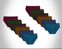 Women Pack of 12 Bikini Panties