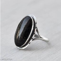 Onyx natural semi precious stone ring astrological purpose for men and women
