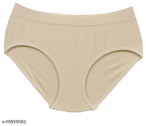 Women Hipster Coral Hosiery Panty