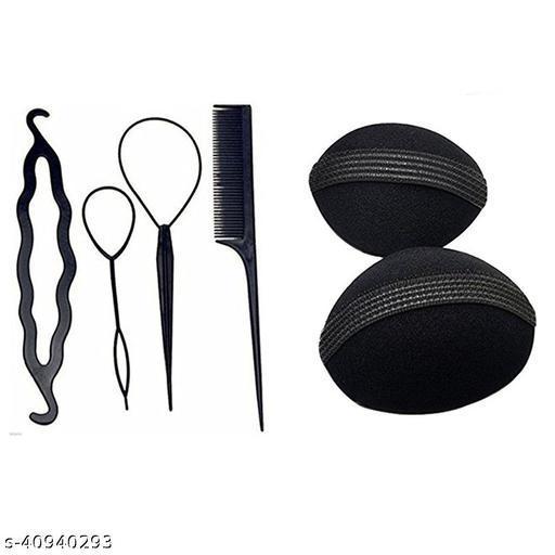 GuruEmbellish Pack of 6 Useful Hair Accessories for Women/ Girls for Festive / Hair Styling
