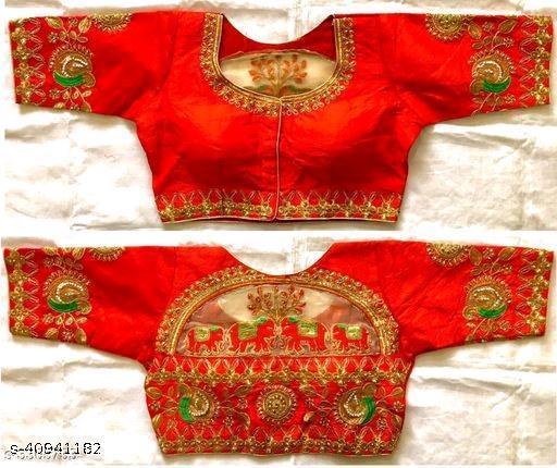 Alisha Ethinic Silk Blouse
