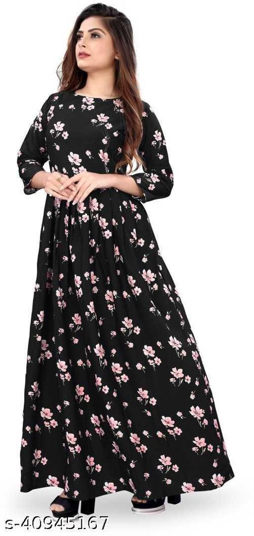 Trendy Partywear Women Gown