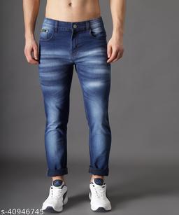 Ondra Denim Slim fit Mens Jeans Color Light Blue