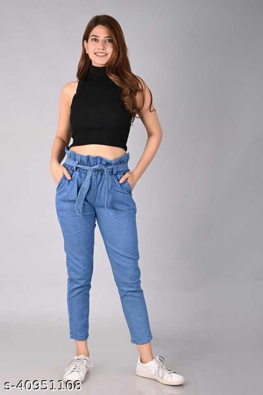 Comfy Elegant Women Jeans