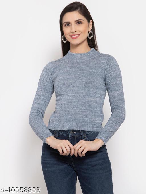 Style Quotient Women Blue Pullover