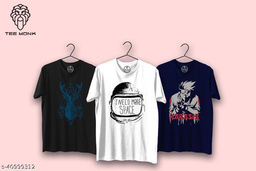 Teemonk Mens Round Neck T shirt