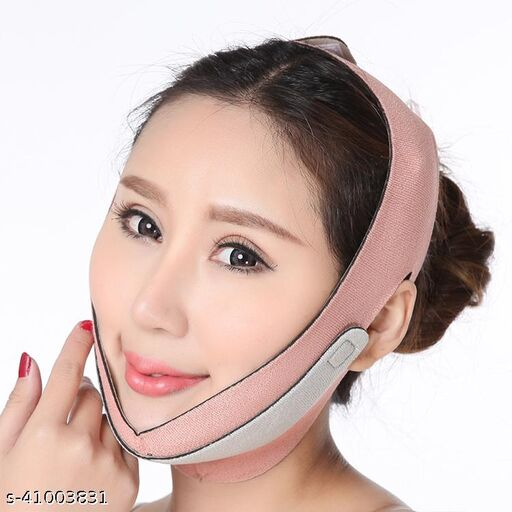 AlexVyan Double Design Anti Ageing Wrinkle Free Face Slimming Chin Cheek Slim Lift Up Lifting V Line Belt Strap Mask Band Bandage - For Women Girl Female