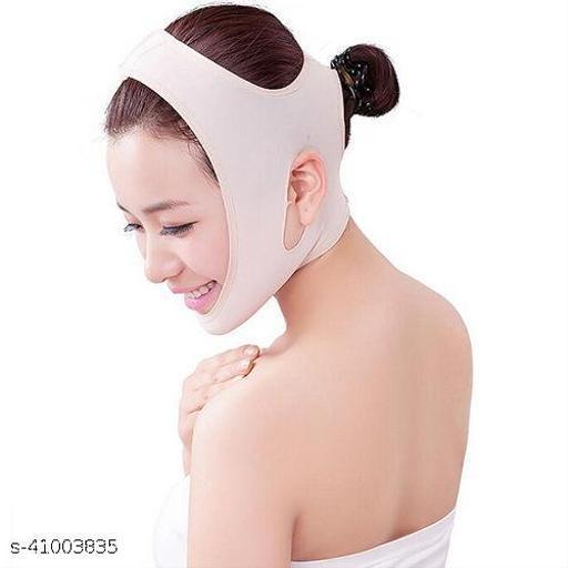 AlexVyan  Free Size Anti Ageing Wrinkle Free Beauty Face Slimming Chin Cheek Slim Lift Up Lifting V Line Belt Strap Mask Band Bandage - For Women Girl Female
