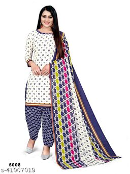 women dresses cotton Printed Salwar suit for women