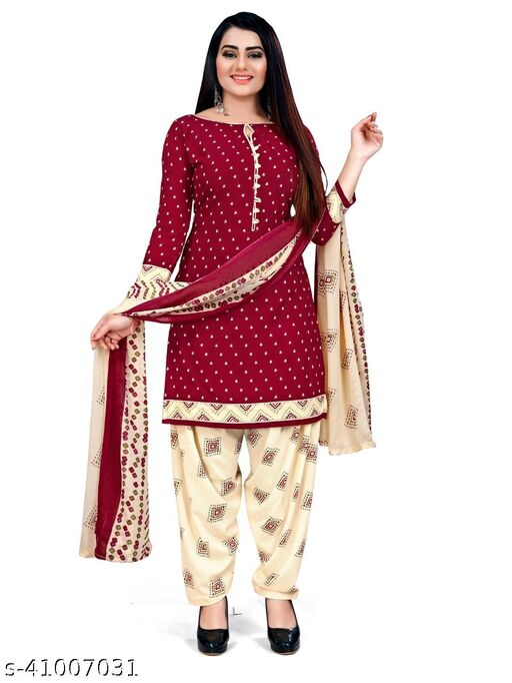 Women's Cotton Unstiched Salwar Suit