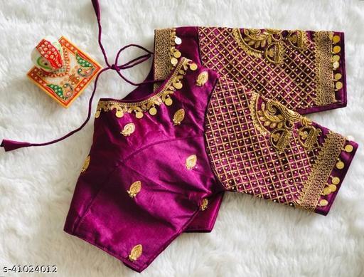 Kathali Silk Blouse