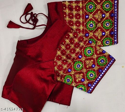 Theen Butti Old Silk Blouse