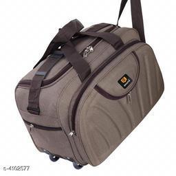 Trendy Unisex Multicolor Polyster Duffel Bags
