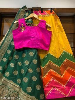 Alisha Fashionable Women Lehenga