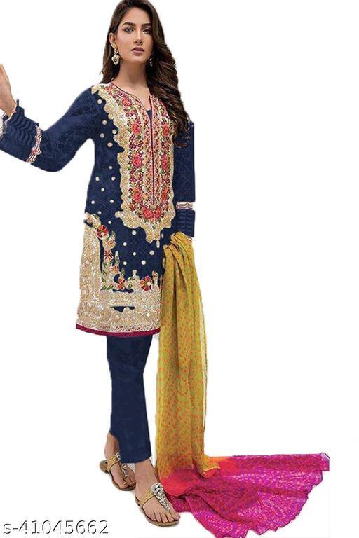 W Ethnic Designer Party Anarkali Salwar Suit