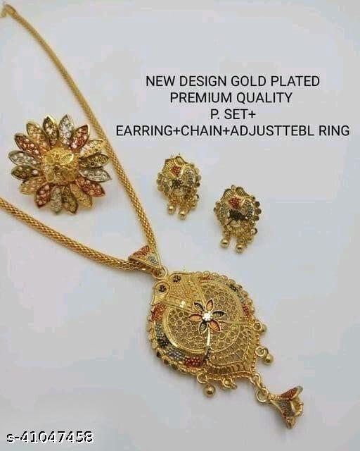 Shimmering Fancy Jewellery Set