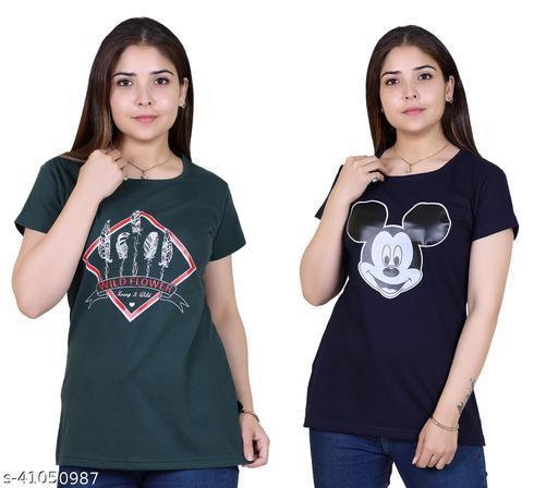 Ogarti cotton women's long T shirt
