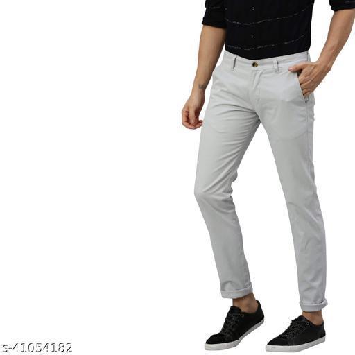 Casual Trendy Men Trousers
