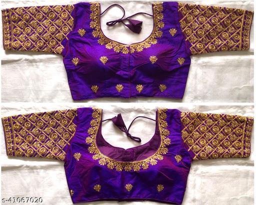 Madhvan Silk Blouse