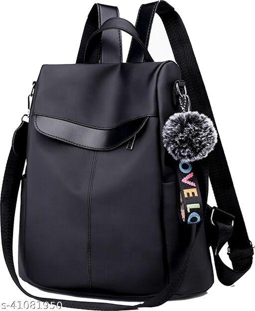 Cute Style Female Student Oxford resistance Anti Thief School Backpack 12 L Backpack  (Grey)