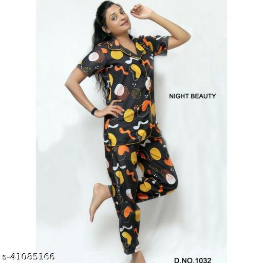 Divine Alluring Women Nightsuits