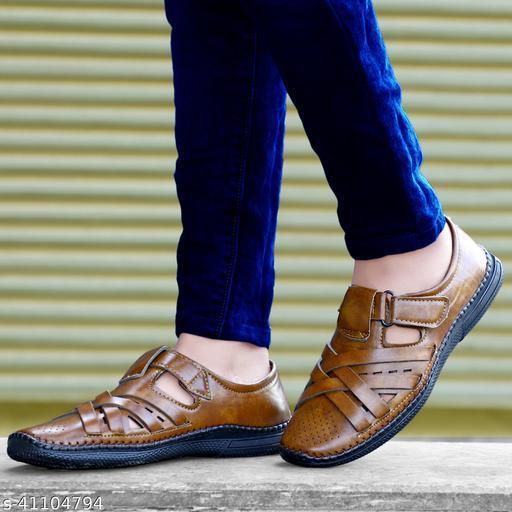 Labbin Men Casual Roman sandal