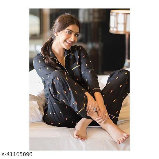 women fashionable nightsuits