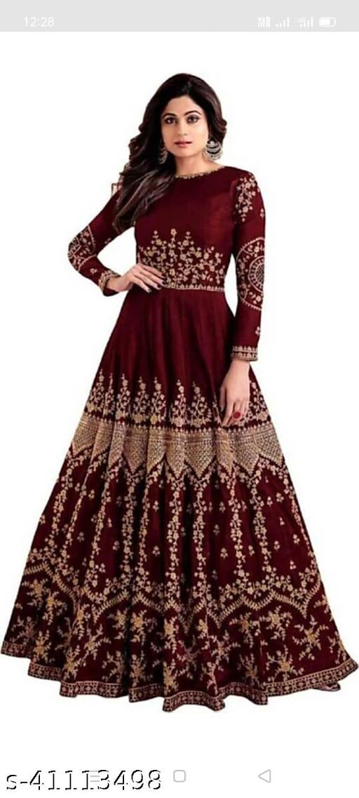 Dilwale Gown Maroon