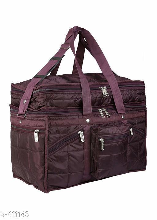 Trendy Men's Maroon travel Bag