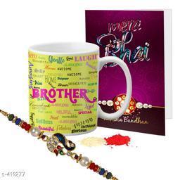 Fancy Mug & Rakhi Combo