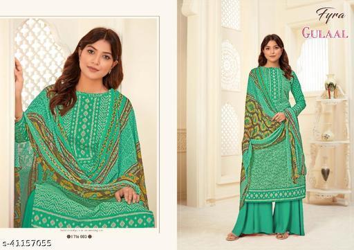 Asisa Pure Cambric Cotton Designer Suit