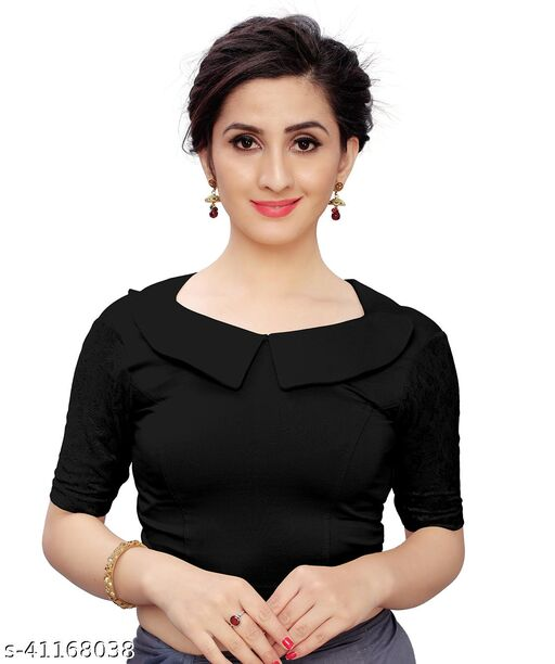 MD VILLA Readymade Stretchable Blouse For Women