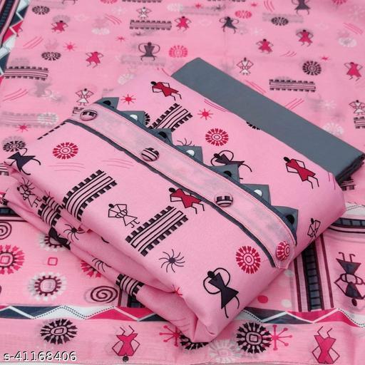 Exlusive Digital Printed Slub Cotton Dress Materialfoe