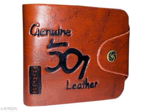 Styles Modern PU Leather Men's Wallet