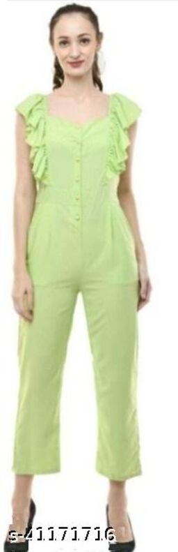 Elegant Jumpsuit light green