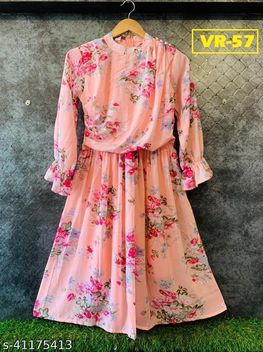 Pretty Glamorous Women Dress