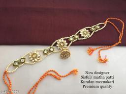 Shimmering Bejeweled Maangtika
