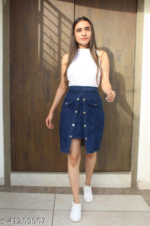 Stylish Trendy Women Western Skirts