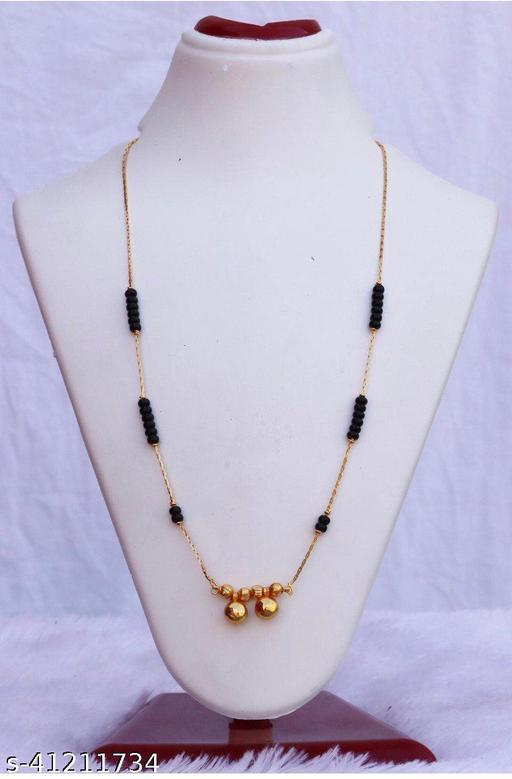Trendy Sensational Vati Mangalsutra with free gift