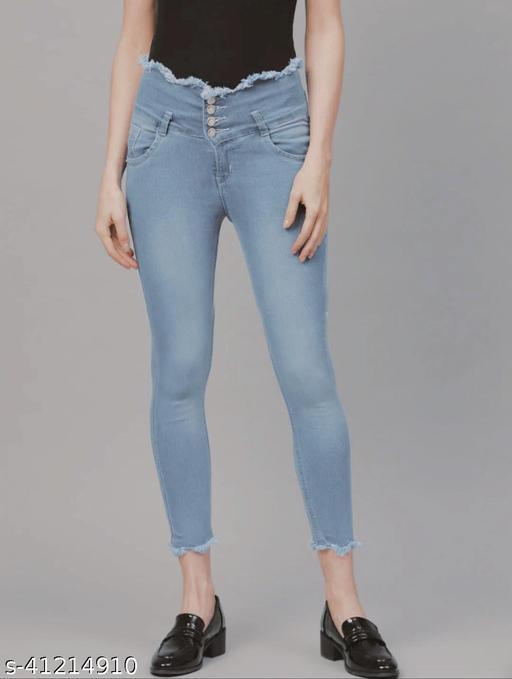 Classy Feminine Women Jeans