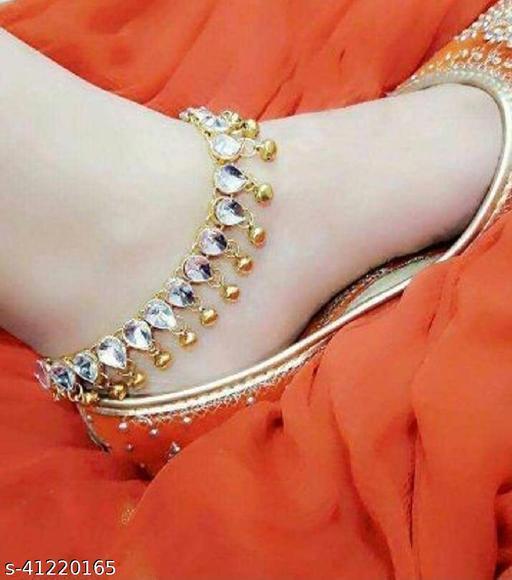 Elite Glittering Women Anklets & Toe Rings