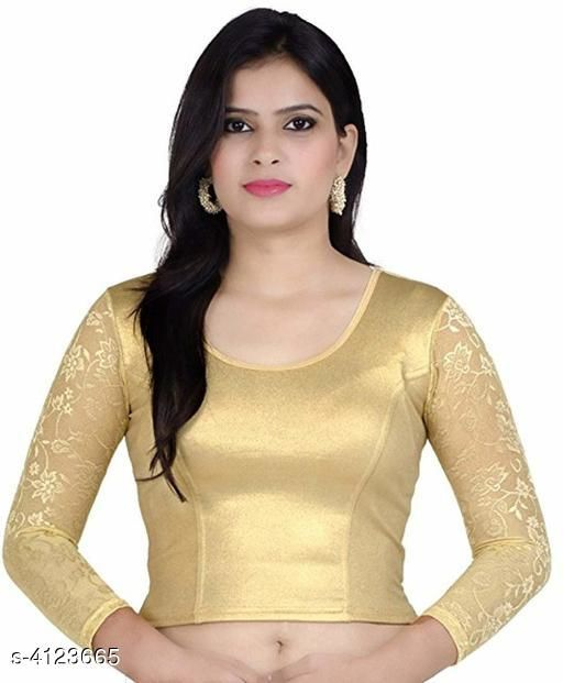 Trendy Cotton Lycra Women's Blouse